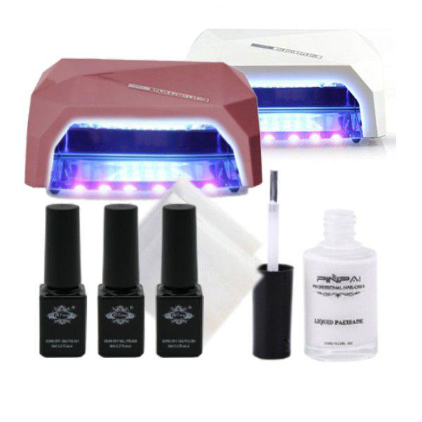 Nordik Beauty Elite Nail Art Kit With Uv Led Lamp Buy Online In
