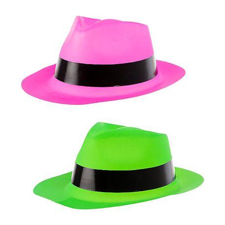 c66e00b0a6a Bulk Pack x 10 Dress Up Hat Fedora Plastic
