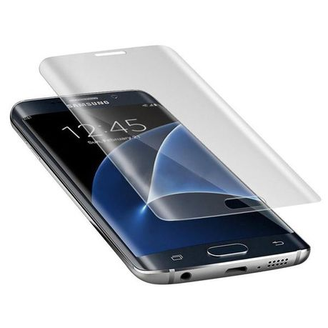 super popular d250b 3dc03 Tempered Glass Screen Protector for Samsung S7 Edge - Clear