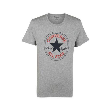 run shoes choose latest discount shop Converse Men's Core Chuck T Shirt - Grey (Parallel Import)