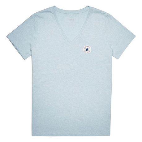 2d8c7c841604 Converse Women s V Neck T Shirt - Ocean Heather (Parallel Import ...