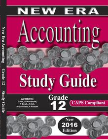 New Era Accounting Grade 12 Answer Book
