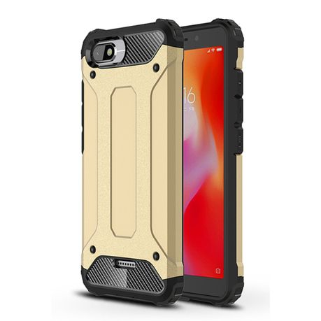 Shockproof Armor Case For Xiaomi Redmi 6a Gold Buy Online In South