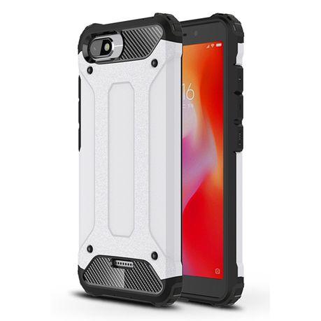 cheap for discount 7efec 197f0 Shockproof Armor Case for Xiaomi Redmi 6A Silver