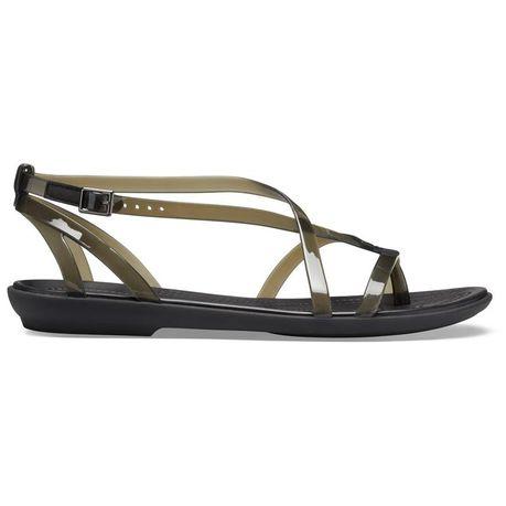 857bc75c7 Crocs Women s Isabella Gladiator Sandals - Black