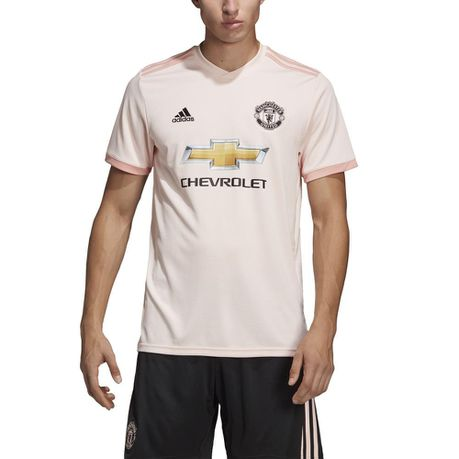 735154851 adidas Men s Manchester United Short Sleeve Away Jersey