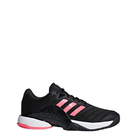 low priced 1bbc1 621ff adidas Mens Barricade 2018 Tennis Shoes - BlackPink