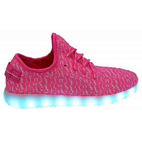 Woman's Izy Style LED Sneakers - Pink