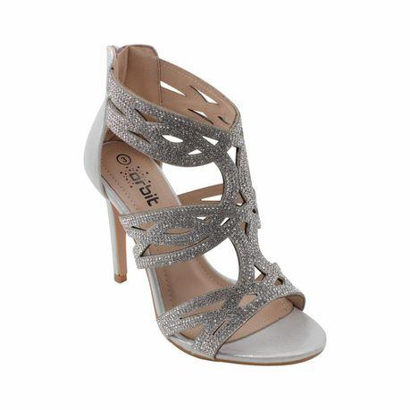 d6373d8c002 Silver Evening Sandals