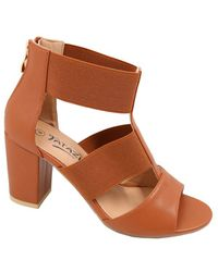 7be820237183 Ladies Elasticated Sandal - Tan