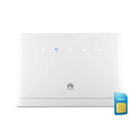 Huawei B315s-22 4G LTE WiFi Router Bundle