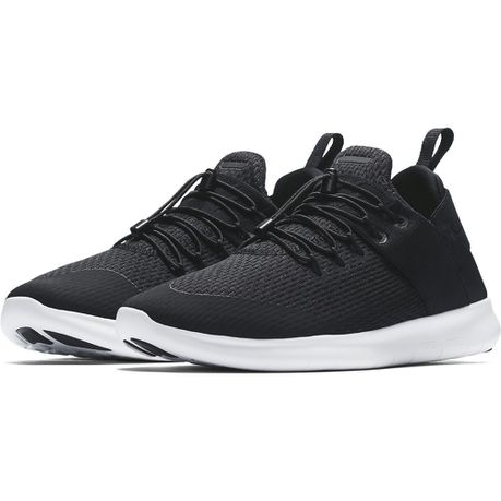 best service 732f3 eab60 Nike Men s Free RN Commuter 2017 Running Shoes - Black White