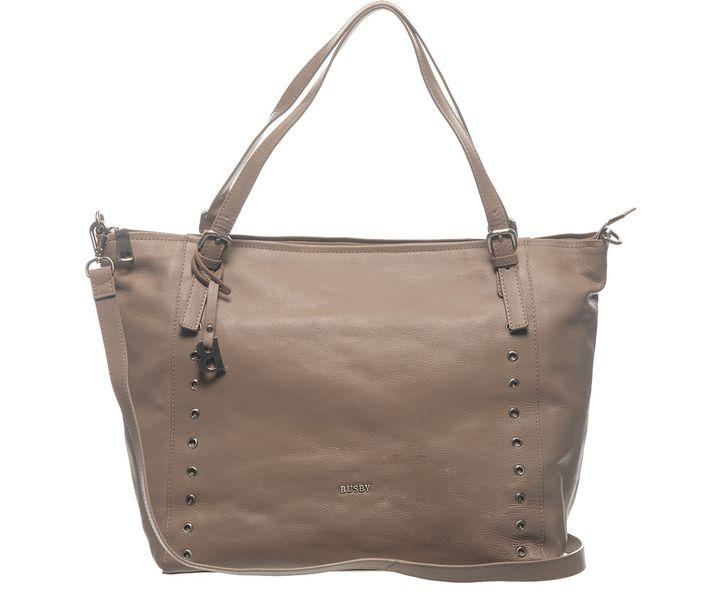 Busby Rumi Large Shopper Bag - Tan