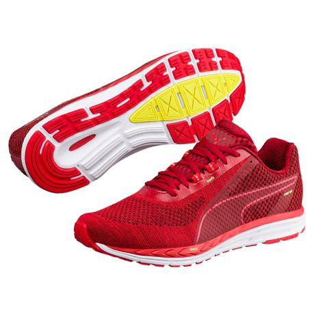 nouvelle arrivee 7dd27 02b27 Puma Men's Speed 500 Ignite 3 Running Shoes - Red
