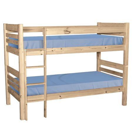 Balmoral Double Bunk Beds Raw Buy Online In South Africa