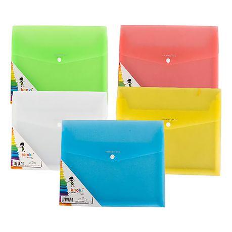 Bulk Pack x 5 A4 Display Envelope - Clear