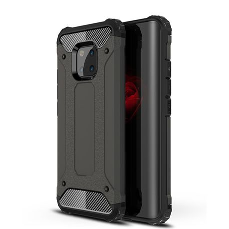new concept 68da1 618ed Shockproof Armor Case for Huawei Mate 20 Pro Black