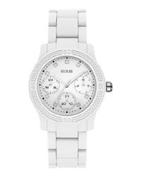 9c250199f6c4 Guess Women s Funfetti Watch - White