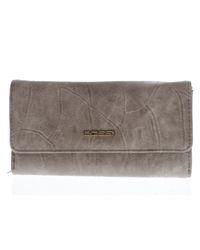 00508636beff Bossi Women s Large Ladies Wallet - Taupe