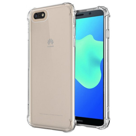 sito affidabile 93d5d 6123c Transparent Clear Shockproof Case for Huawei Y5 Prime 2018