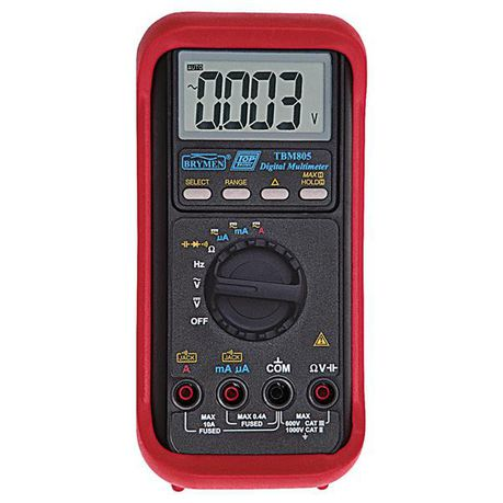 HellermannTyton Brymen Toptronic TBM805 Digital Multimeter