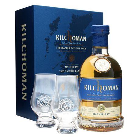 Kilchoman - Machir Bay Islay Single Malt Scotch Gift Set - 750ml