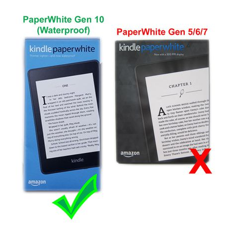 Smart cover for Kindle PaperWhite 2018 - Fairy | Buy Online in South