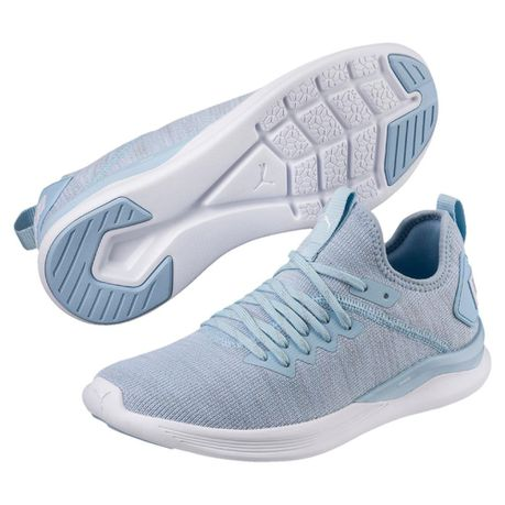 low priced 22617 a4a01 Puma Women's Ignite Flash evoKNIT Training Shoes - Blue