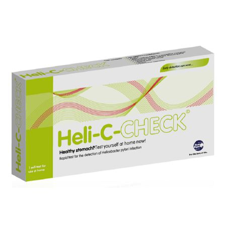 Heli C Check Home Test Kit For Helicobacter Pylori