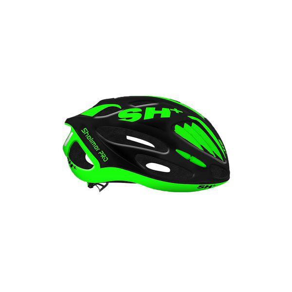 SH+ Shalimar Black Matt Green Helmet