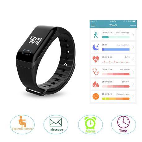 Wearfit Health Tracker And Blood Pressure Measurement   Buy Online