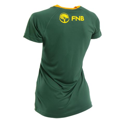 san francisco crazy price fashion styles Asics Women's Springbok RWC 2019 Home Fan T-Shirt