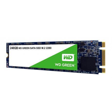 WD GREEN 240GB M 2 2280 SATA3 SSD