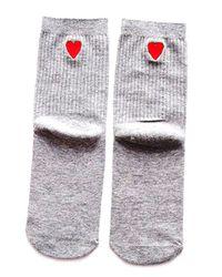 58e262cc34e All Heart Women s Socks With Heart Detail