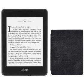 Kindle Paperwhite 10th Gen Wi-Fi With S/O 8GB Black Bundle