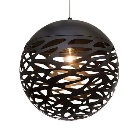The Lighting Warehouse Pendant Oceana 21367 Black