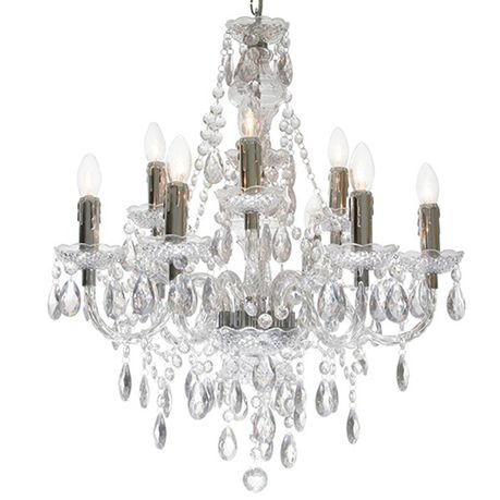 The Lighting Warehouse Chandelier Crystal Princess 9