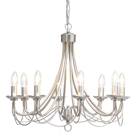 The Lighting Warehouse Chandelier Modern No Shade Maypole 8 12377ss