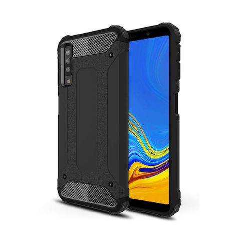 hot sale online b4cce 3d220 Digitronics Hybrid Shockproof Case for Samsung Galaxy A7 (2018)