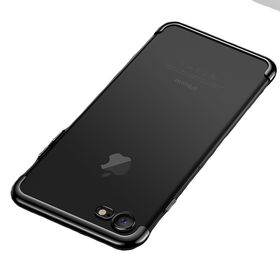 low priced 53805 17eb6 We Love Gadgets iPhone 8 & 7 Transparent Electroplated Cover