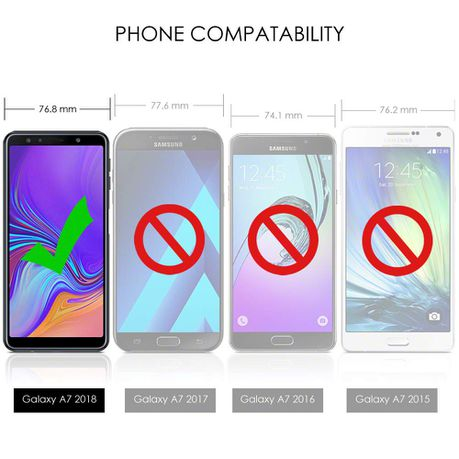 Tekron Protective Shockproof Gel Case for Samsung Galaxy A7