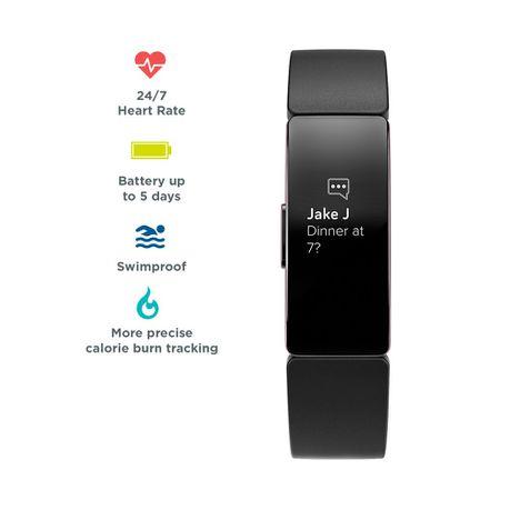 Fitbit Inspire HR Fitness Tracker - Black Gun Metal | Buy