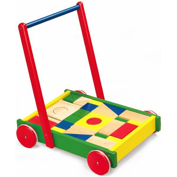 Viga - Baby Walker with Building Blocks