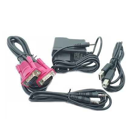MT ViKI VGA & Audio Extender With 2-Port Splitter Via CAT5e