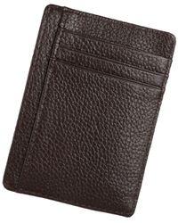 ca9e6f938d Genuine Leather Minimalist Wallet-RFID Blocking