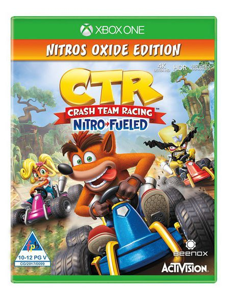 Crash Team Racing Nitro-Fueled - Nitros Oxide Edition  (XBOX ONE)