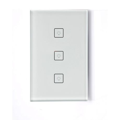 278f4d800e20 Smart WIFI Light Switch - 3 Gang