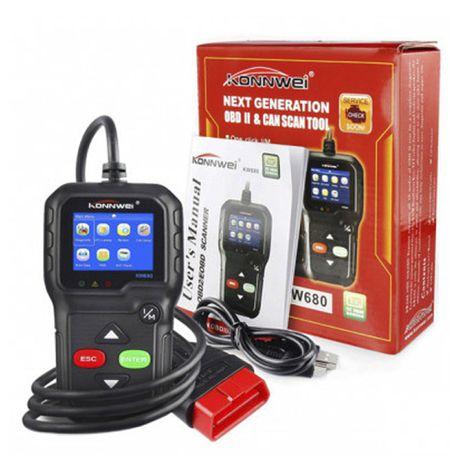 The KONNWEI KW680 OBD2 Automotive Diagnostic Scanner | Buy Online ...