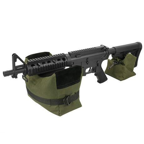 Front/&Rear Sandbag Shooting Hunting Rifle Support Oxford Cloth Unfilled Package