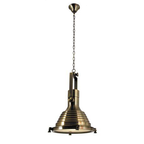 Lighting Bronze Metal Pendant